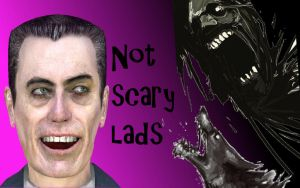 Youtube thumbnail for a horror Gmod map by DarkSpace141