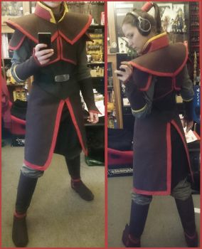 Zuko Book 1 Cosplay - WIP by LadyBad