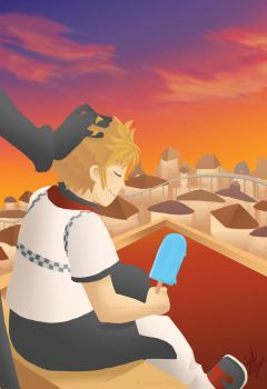 KH: On the Tower by Soularis