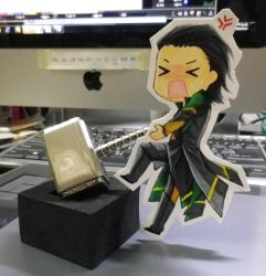 The USB and Loki by yuna918