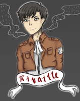 Rivaille Heichou by kimchikimi