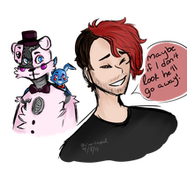 LET'S LURK TOGETHER [ Markiplier+FNAF ] by oh-no-Castiel
