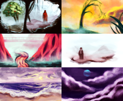 Colour Thumbnails + Brush by KristinaWaldt