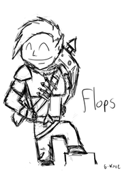 Flops, The Megling Hunter by Gwaveproductions