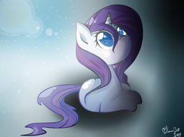 D'awws can be sad I guess, Wet Mane Rarity by LlamasWithKatanas