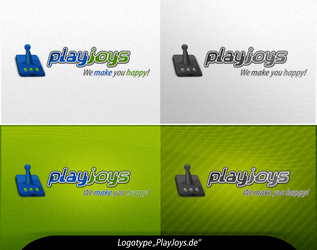 Logotype 'PlayJoys' by no0bsteR