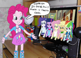 Pinkie Pie Broke The 4th Wall Again by equestriaguy637