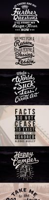 Typography Work by grazrootz