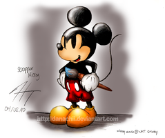 Epic Mickey by alittlemandy