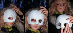 doll mask rough version by askoi