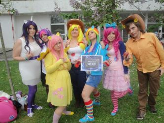 MLP Cosplay group by MiracleVivi