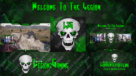 LegionzGaming GFx Package by swift4runner
