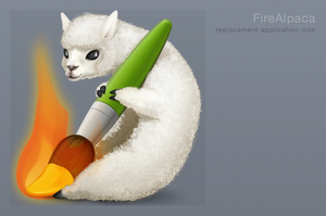 FireAlpaca Icon by 1024jp