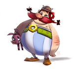 Day 685. Obelix by Cryptid-Creations