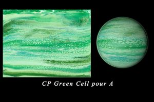 cell pour 040818 A green by Casperium