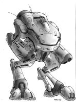 The Hammer Robot Combat System by MarkCDudley