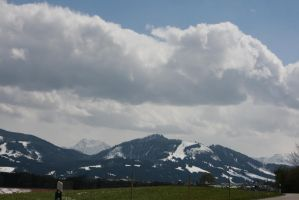 view to mountains  39 by ingeline-art