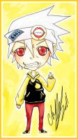 Chibi Soul Eater Evans by Kids-Sexy-ReaperBody