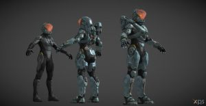 Halo 5 Kelly-087 XPS model V1 by navie9888ch