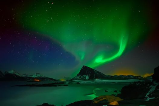 Nordlys by steinliland