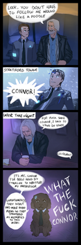 Detroit: become human Comic *spoiler-ish* by sayuttan