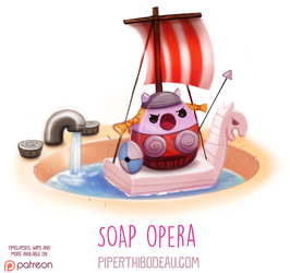 Daily Paint 1612. Soap Opera by Cryptid-Creations