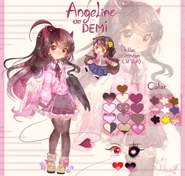 Angeline the D E M I by AngelineTheDEMI