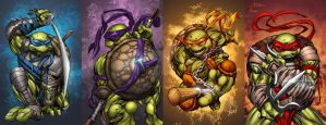 TMNT-Recolored by TimareeZadel