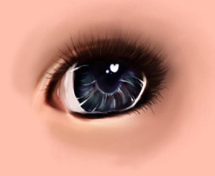 Eye style practice by OhHowTypical