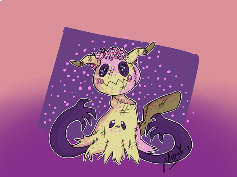 Mimikkyu~ (redrawn-ish) by MyLittleJewMonster