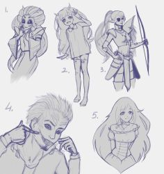 Sketch requests: part 2 by None-Nimby