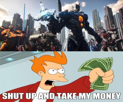 My Reaction To Pacific Rim Uprising Trailer by Sideswipe217