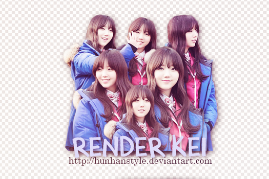[190115] RENDER KEI #1 by HunhanStyle