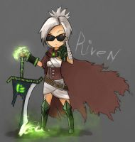 Riven - The exiled whatever by TheZatrox