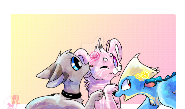 Sweet charms by JB-Pawstep