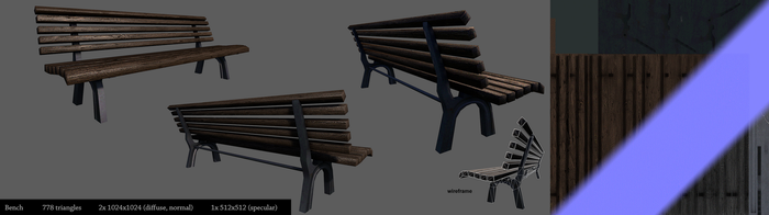 bench by Yakul