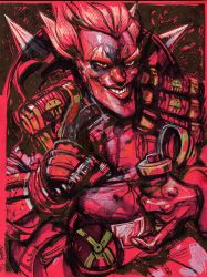 Junkrat RED by ChrisVisions