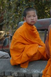 Buddhist Monk by shenhai