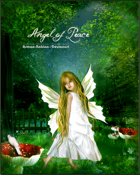 Angel of Peace by asmaa-rabiaa
