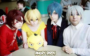 Angry Birds cosplay by Tenori-Tiger