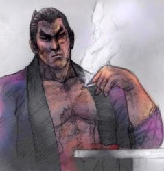 Kazuya Mishima, Break from Conflict. No.1 by JUSTINQ88