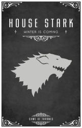 Game of Thrones - House Stark by LiquidSoulDesign