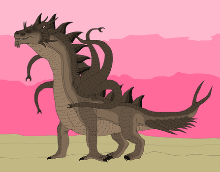 Guardian Spirit Of The East Deserts by Redspets