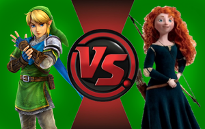 CFC|Ocarina of Time Link vs. Merida by Vex2001