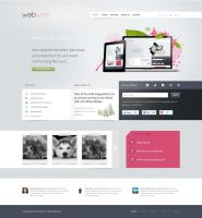 A free HTML and PSD template by EmilioEx