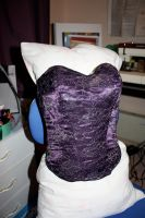 Purple Reign - Corset, front by tanmei