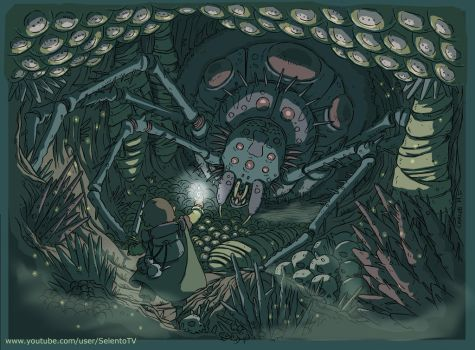 Hobbit Shelob The Lord of the Rings by Carlos-MP