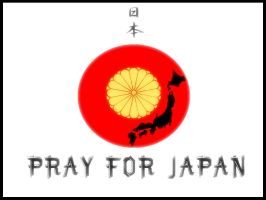 Pray for Japan by Arentine