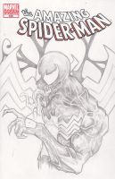 Venom Sketch Cover by ChrisOzFulton