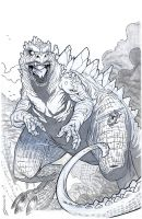 Kaiju King INK by voya